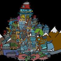 Sonic Pals Headquarter Towering Floors