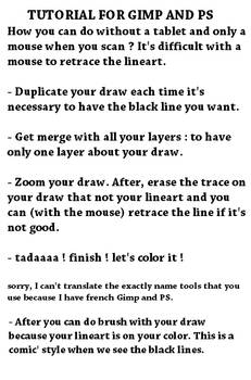 Tutorial Trad Art After Scanning With A Mouse