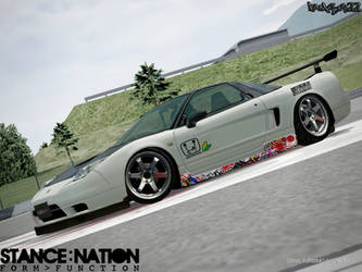 Honda NSX-R Concept by kamsuy22