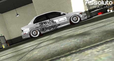 Lancer Evolution IX (Assoluto Racing) by kamsuy22