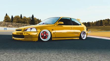 Civic Type R (ek9) by kamsuy22