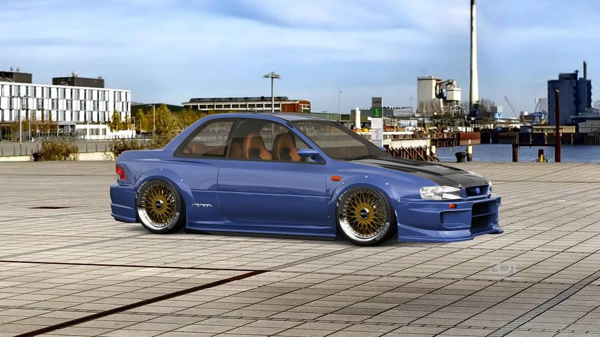 Subaru Impreza WRX STI 22B by kamsuy22