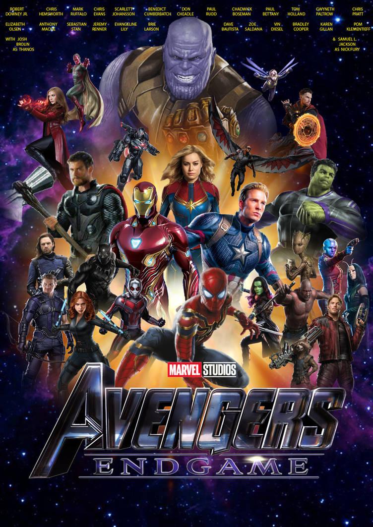 Avengers Endgame Poster By Joshua121penalba On Deviantart