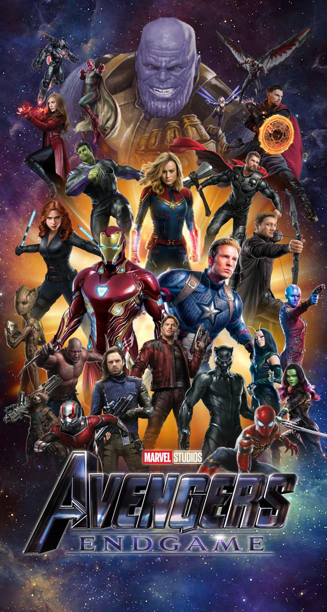 Avengers Endgame Iphone Wallpaper Hd By Joshua121penalba On Deviantart