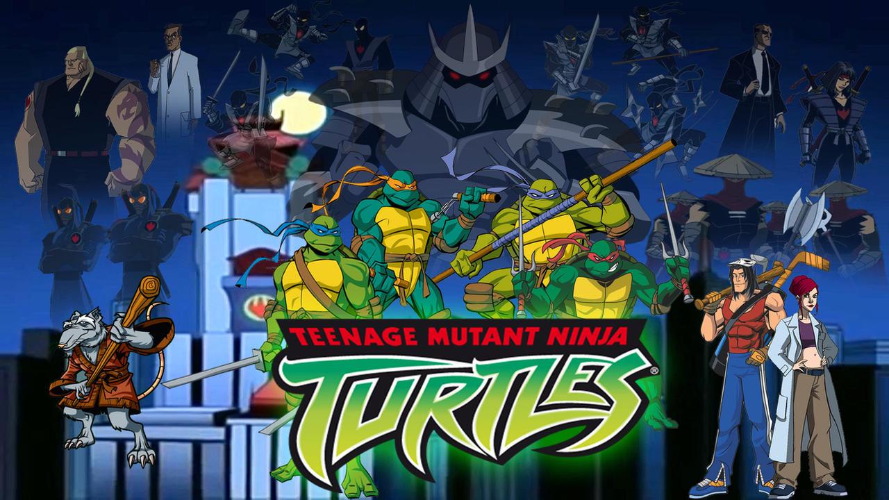 Teenage Mutant Ninja Turtles 2003 Wallpaper By Joshua121penalba On