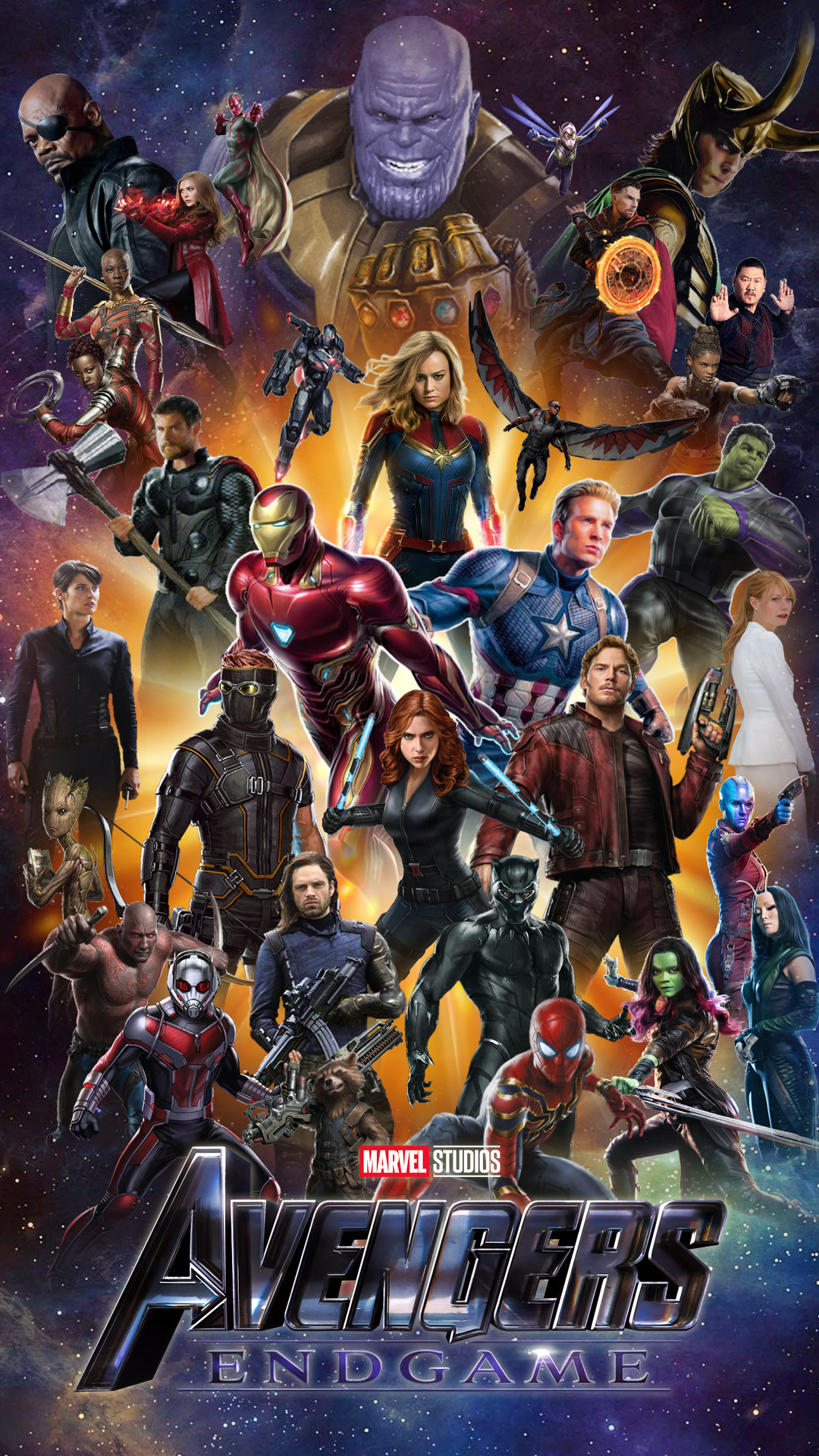 AVENGERS ENDGAME NEW IPHONE WALLPAPER HD by ...