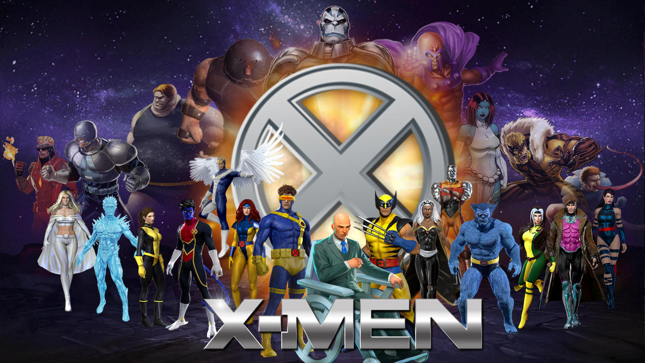 X Men Desktop Wallpaper Hd By Joshua121penalba On Deviantart