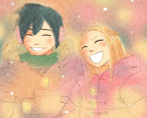 Winter Love by enchantma