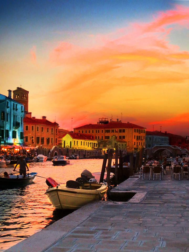 Venezia Sunset by enchantma
