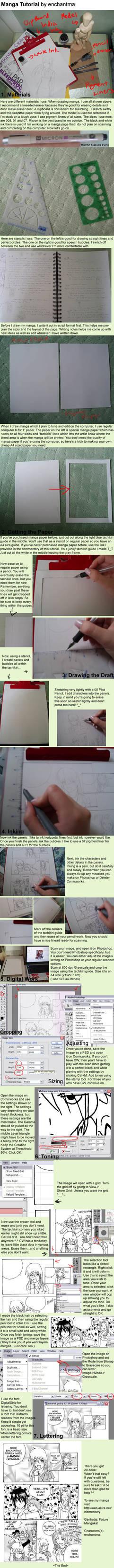 Manga-Making Tutorial