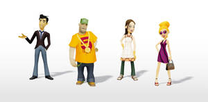 iphone game character by pixelchaot