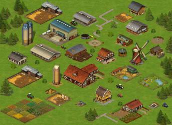 Farmland Game by pixelchaot