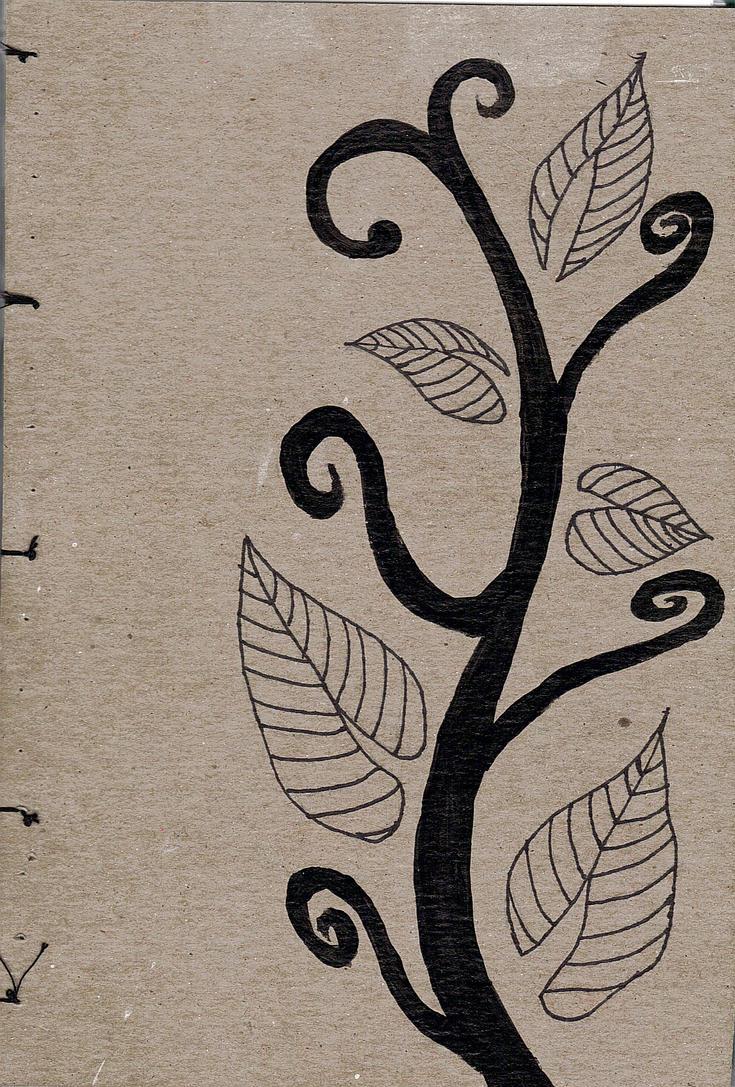 Sketch Book Cover : Homemade sketchbook cover by kilalaflames on deviantart