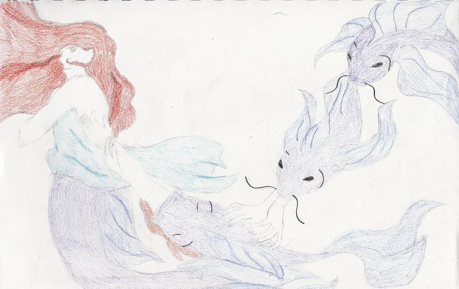 Mermaid Transformation By Kilalaflames
