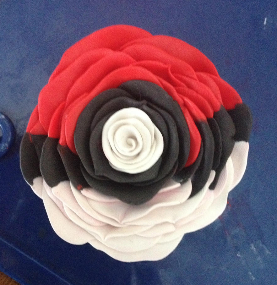 Pokeball Rose by Kilalaflames