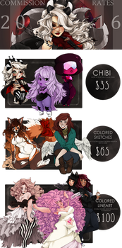 Commission Price Guide 2016 [OPENING SOON]
