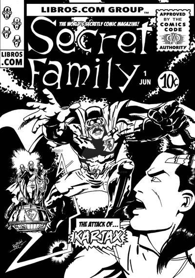 Secret Family (kirby Style) by romanlopezcomic