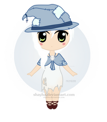 Chibi #1 - [COMMISION] Enchanted Gijinka by Shayha