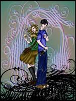 Lyra and Will by zeldamacgregor