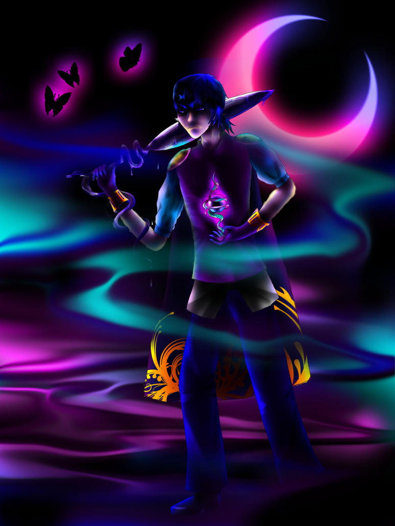 .:collab:.Dark Michi by sunmi-e