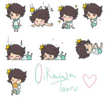 Oikawa Tooru Shimeji [Haikyuu!!] by HaikyuuShimejiSource