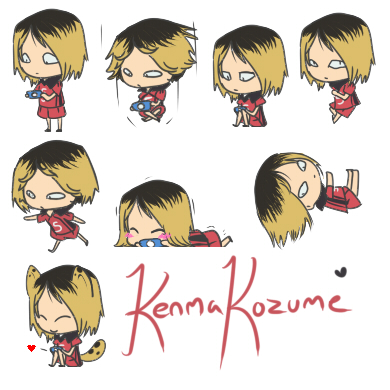 Kenma Kozume Shimeji [Haikyuu!!] by HaikyuuShimejiSource