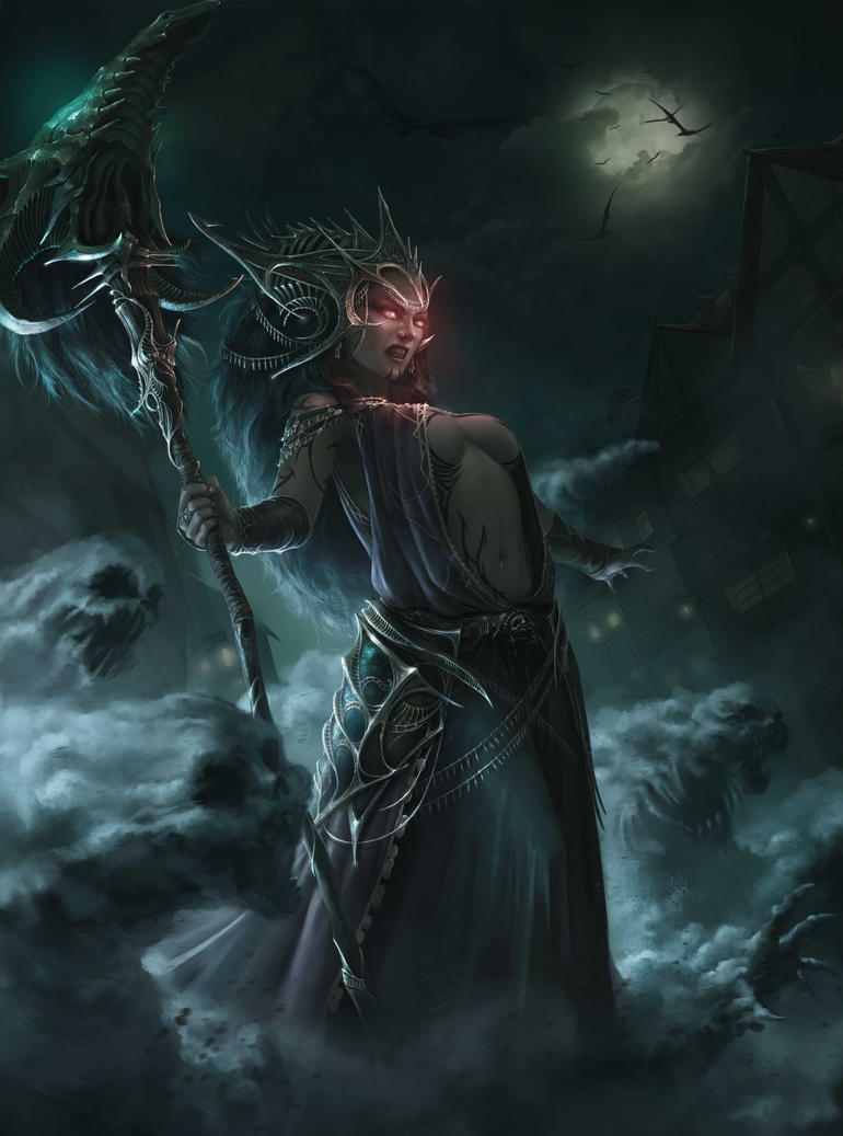 Sorceress by 90chin