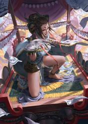 Lotus Priest by 90chin