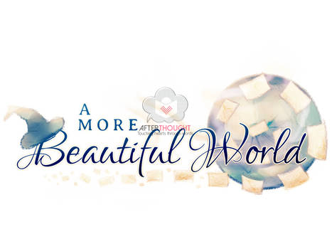 A More Beautiful World Logo by AfterthoughtStudios