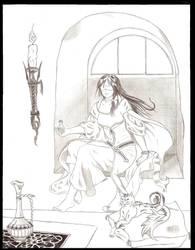 Sorcerer's Apprentice: Zal by Queen-of-Daemons