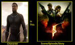 What If black panther was in resident evil 5 by meikotheshinyturtwig
