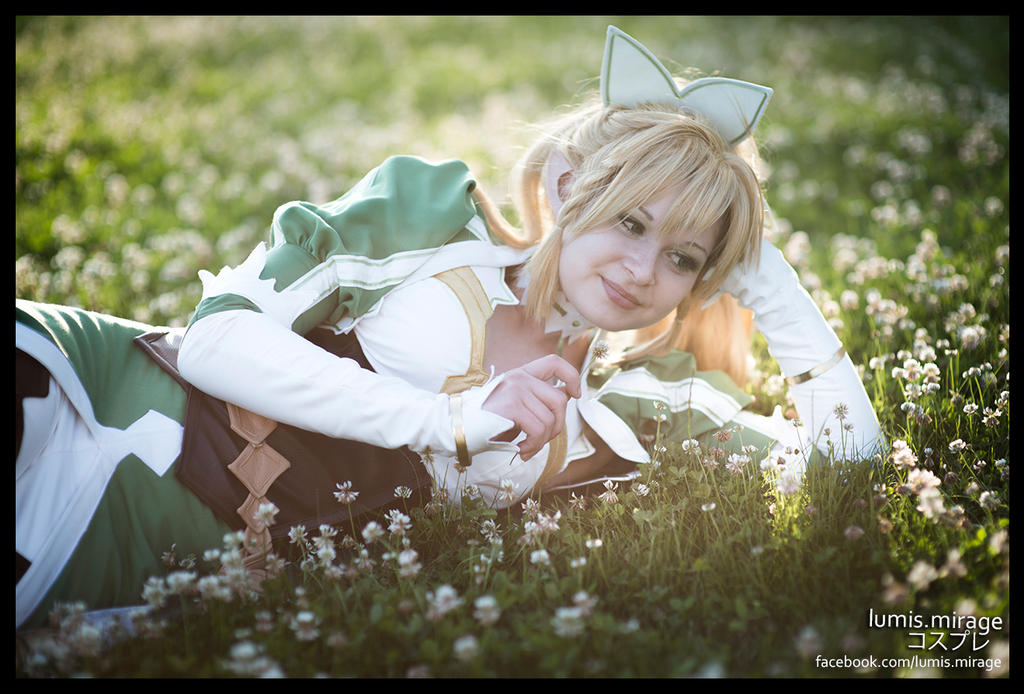 Dreamy Leafa : Sword Art Online by Lumis-Mirage
