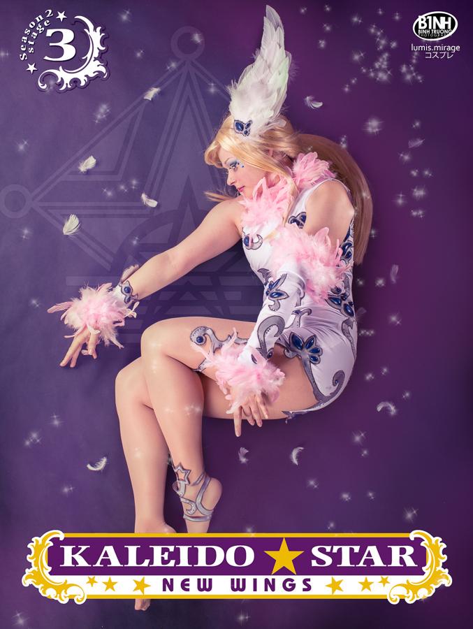 Kaleido Star : Layla Hamilton by Lumis-Mirage