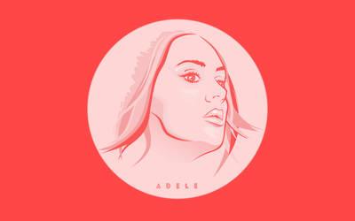 Adele wallpaper by f1rstZomb1e