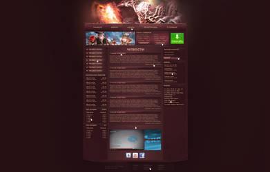 Mu Online web interface