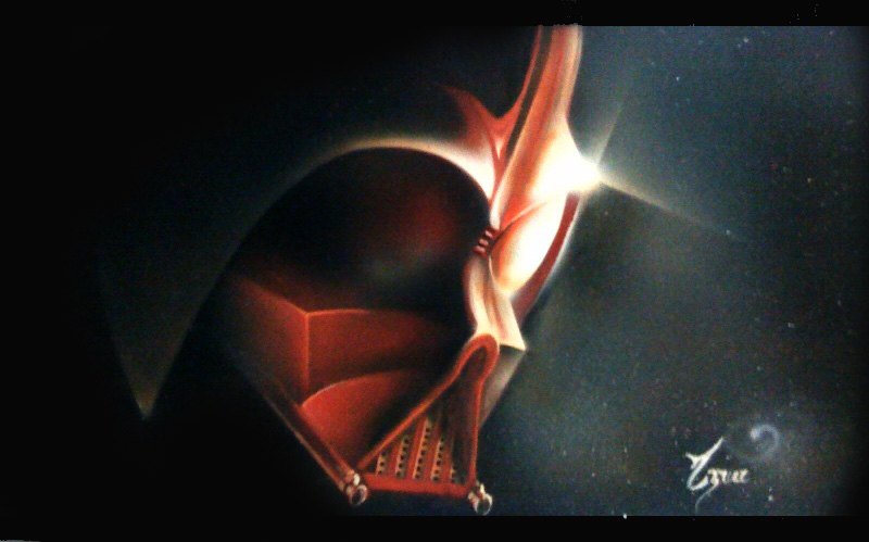 darth vader by ozzone