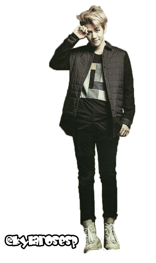 exo baekhyun png render 1 by kylarosesp on deviantart