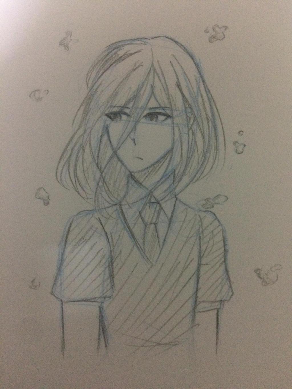 Cinnabar [Houseki no kuni] sketch by Kimoichan
