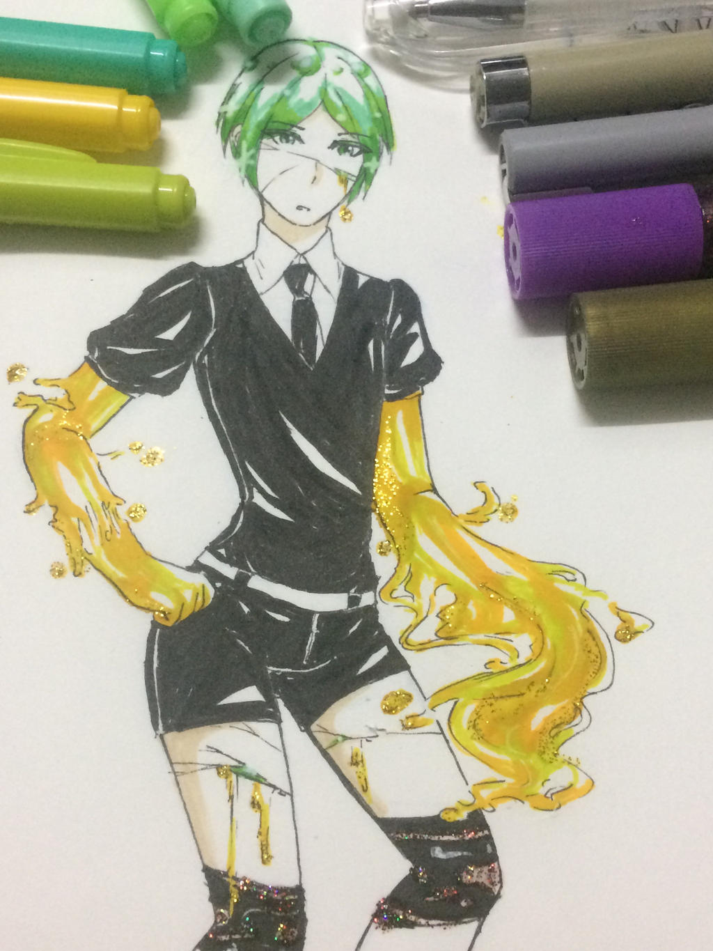 Phosphophyllite [Houseki no kuni] by Kimoichan
