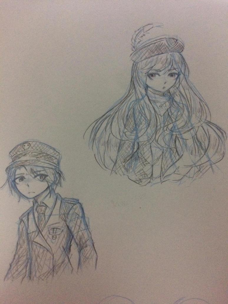 [Sketch] Matt and Lance by Kimoichan