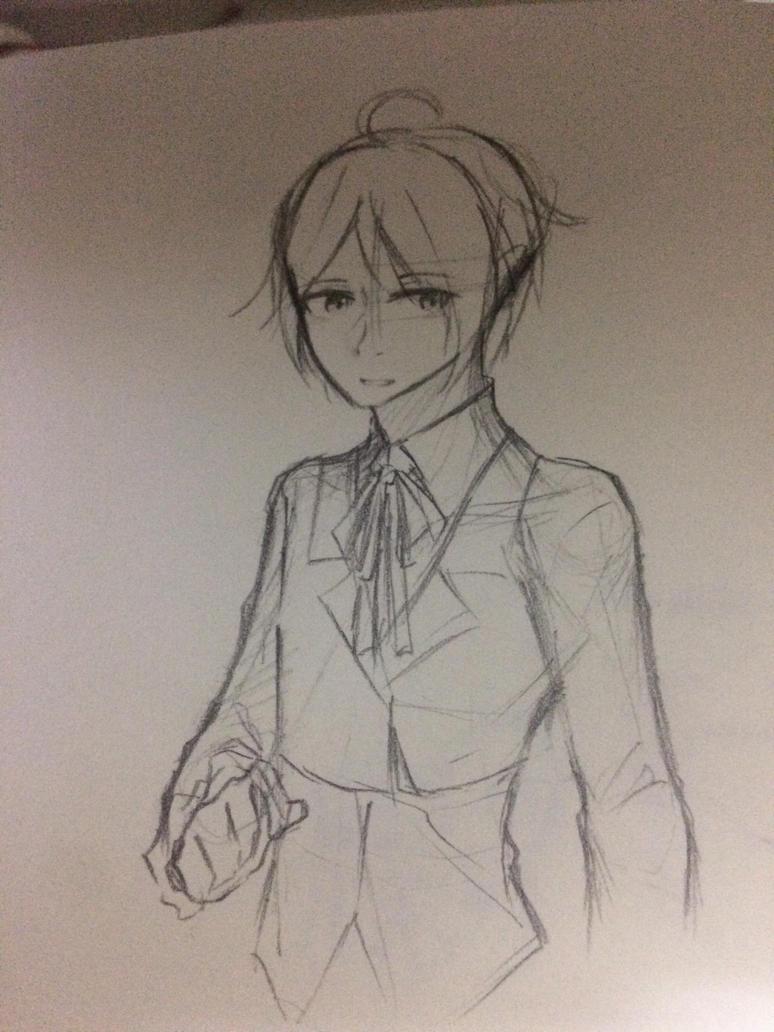 [Sketch] Natalie genderbend ver. by Kimoichan