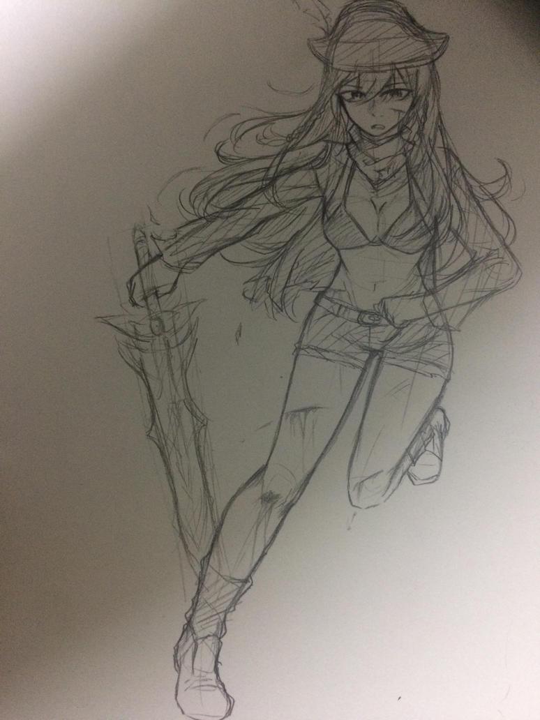 [Sketch] [WIP] by Kimoichan