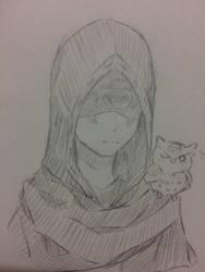 [Identity V] Eli Clark (sketch) by Kimoichan