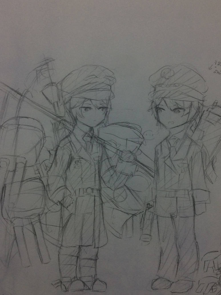 [EBF] Meet yourself (Sketch) by Kimoichan