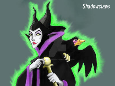 Maleficent by therealshadowclaws