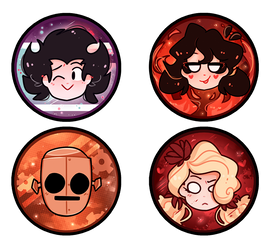 ds buttons by ShadowAphelion