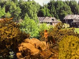 Centaur Girl in the Village