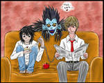 Death note... LxRaito