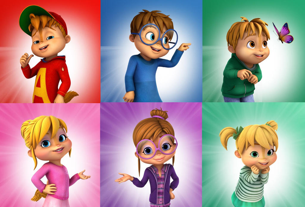 The Chipmunks And The Chipettes By TommyChipmunk On DeviantArt