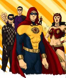 Mars Ravelo Heroes by pinoyman